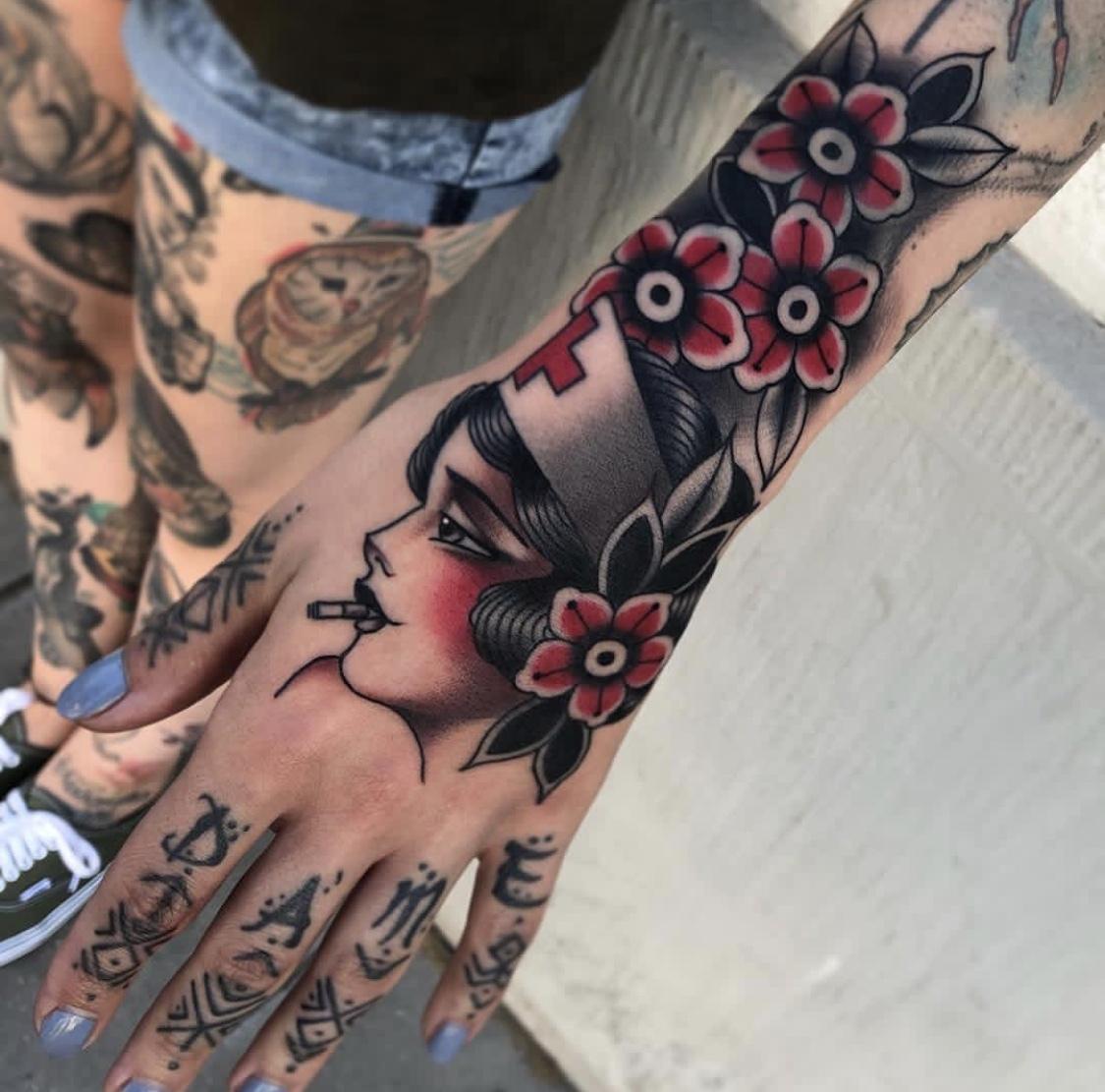 Cedric Weber, Greyhound Tattoo, Essen, Germany