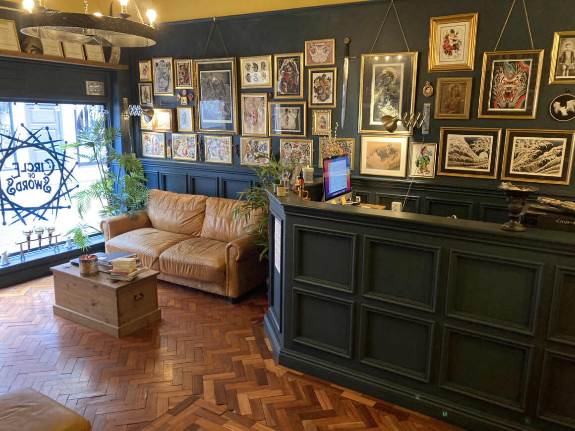 Circle of Swords Tattoo Studio, Worcester (UK)