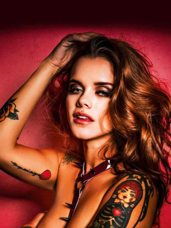 Cover girl Jess Tattoo Life Magazine