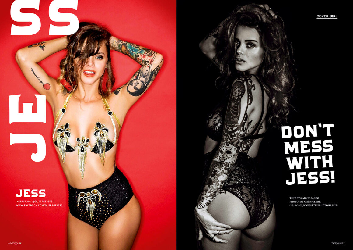 Cover girl: Jess