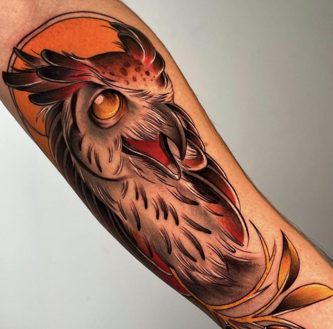 Eddie Ditinsky, Gida Tattoo, Tel Aviv, Israel