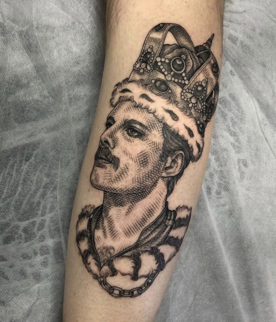 Eddy Lou, FLT Tattoo Studio, Newcastle, UK
