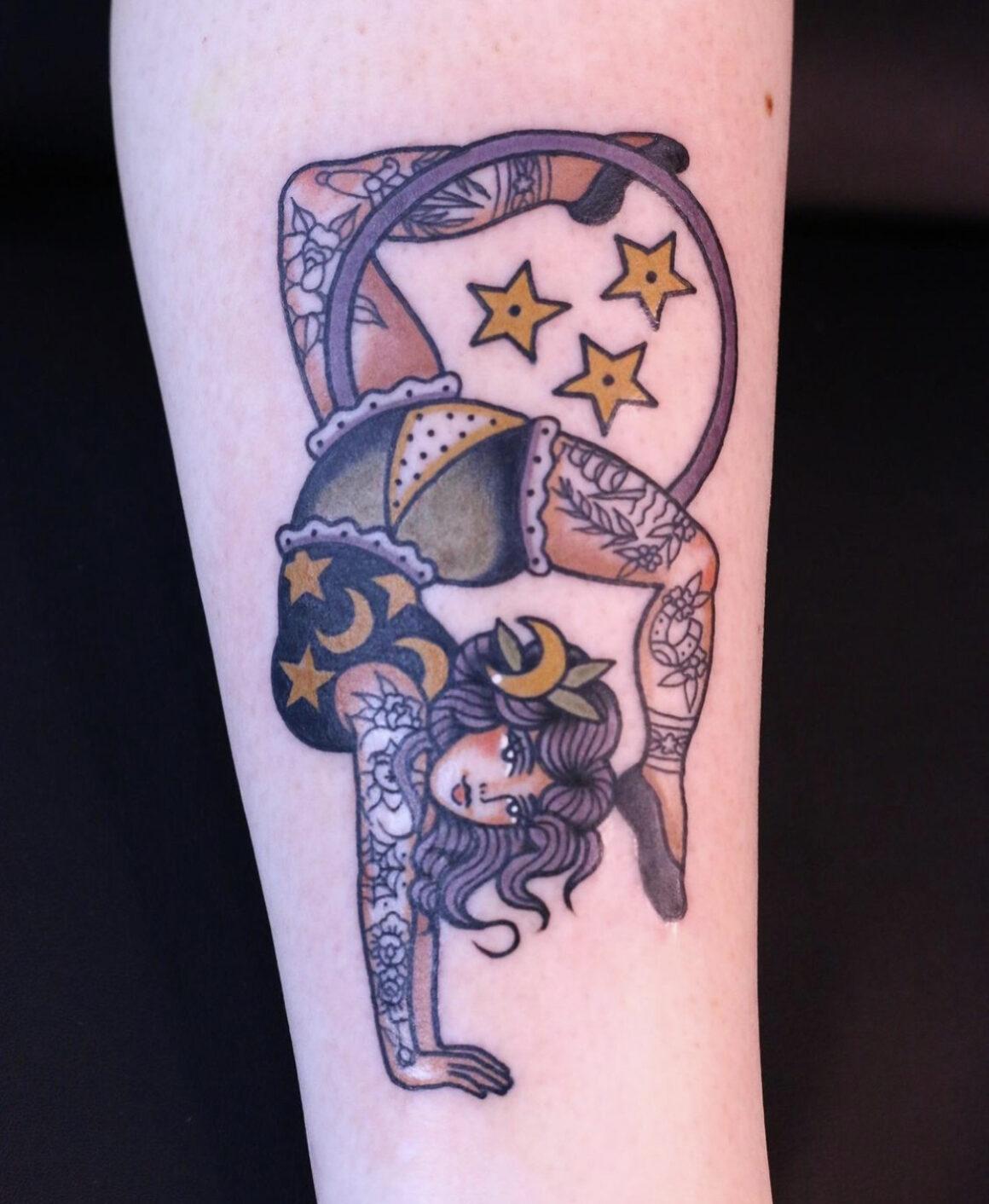Eve Mansell, Bloom Street Tattoo Studio, Manchester, UK