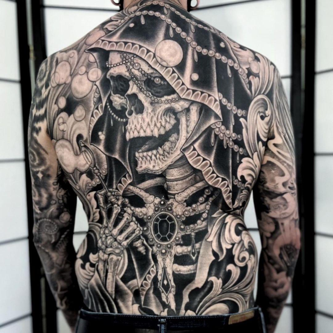 Graham Beech, Made to Last Tattoo, Charlotte (NC), USA