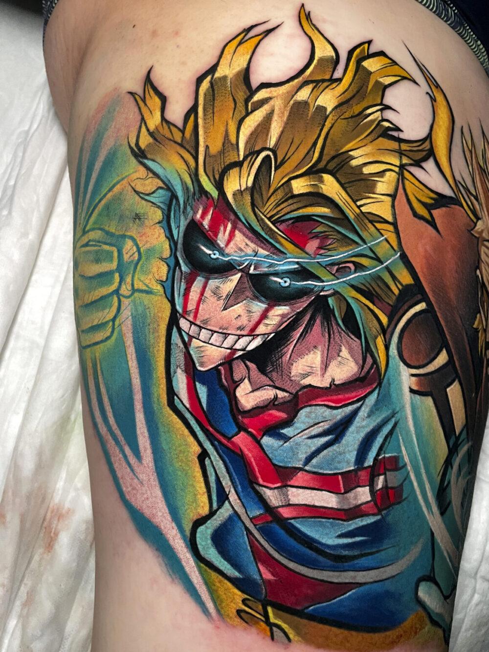 Iván Pelegrín, Gotham Tattoo, Madrid, Spain