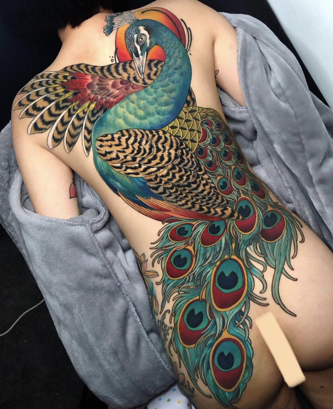 Jina, Allday Tattoo, Kyonggi-Do, Korea