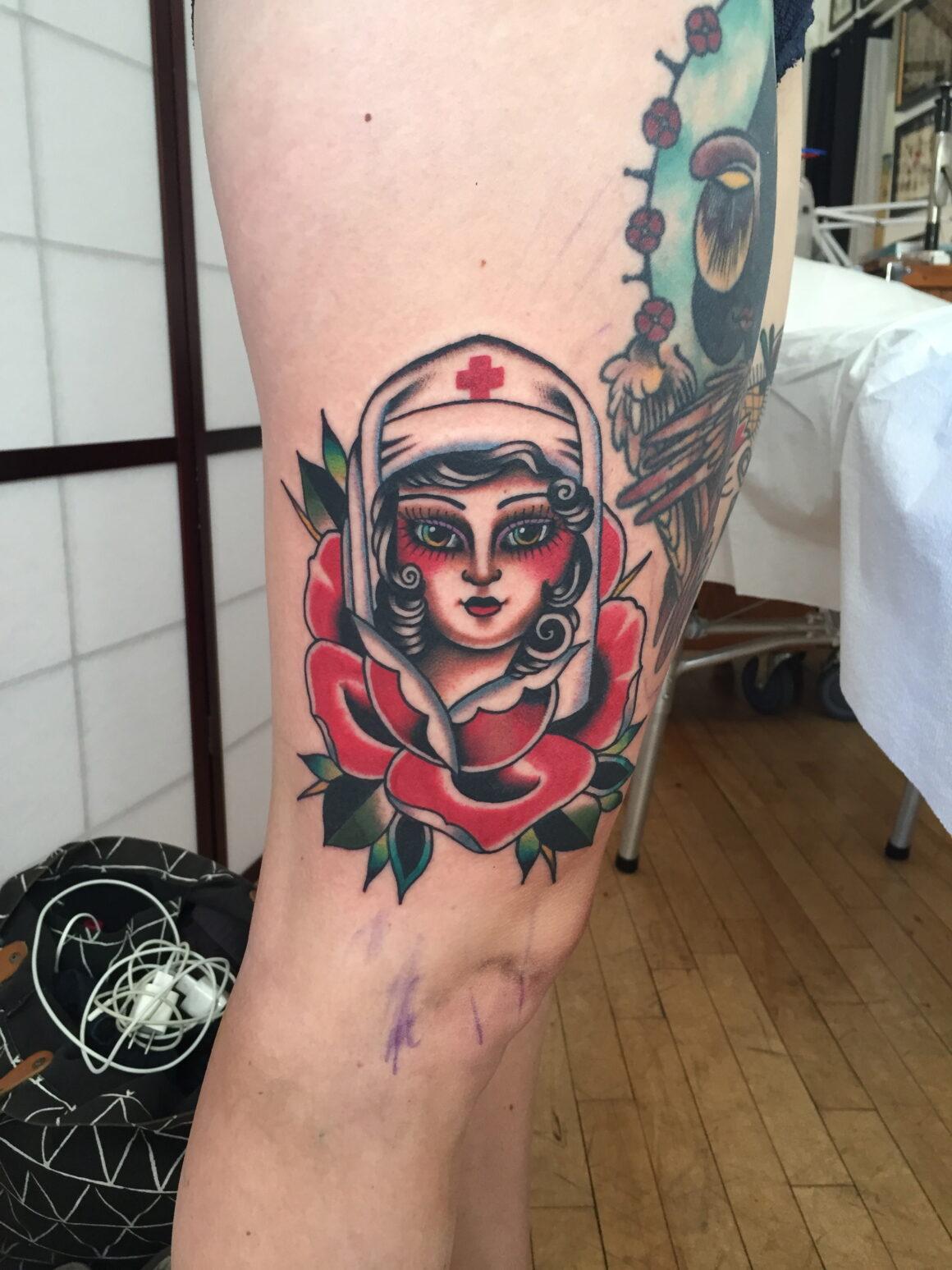 Kim-Ahn Nguyen, Seven Seas Tattoos, Eindhoven, The Netherlands