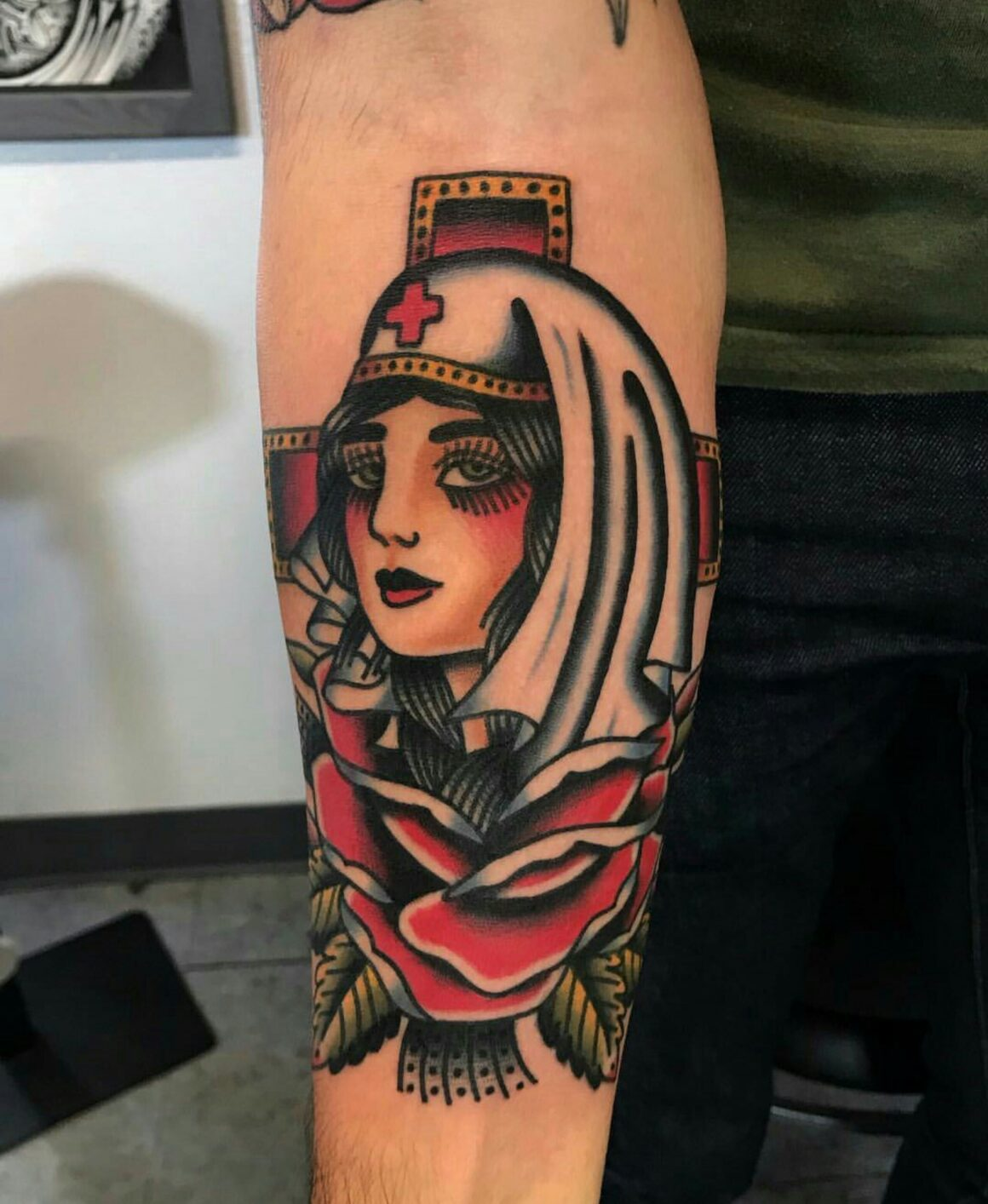 Nicholas, Visible Ink Tattoo, Malden, USA