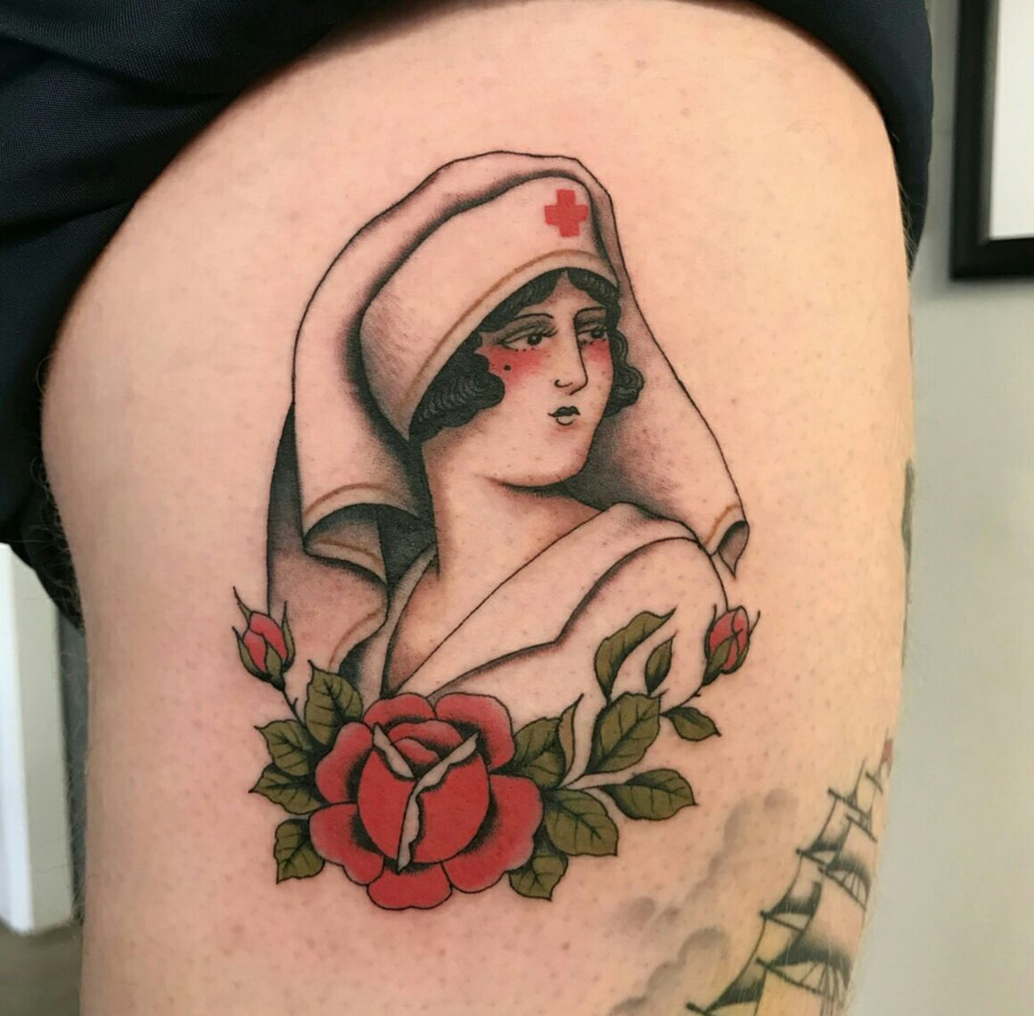 Olivia Dawn, Rambo's Tattoo Parlour, Manchester, UK