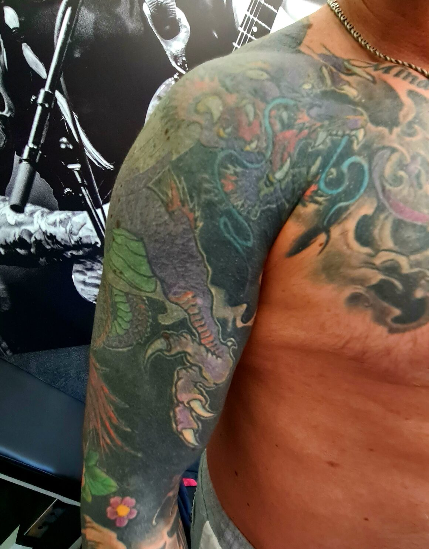 Pestilence, Pat Mameli tattoo