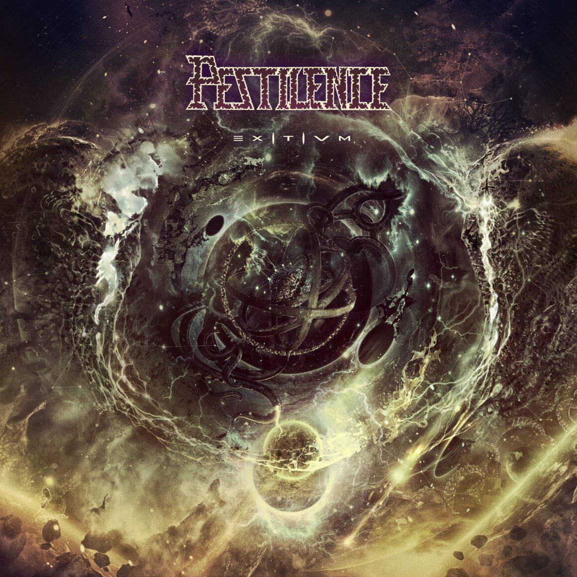 PESTILENCE album cover by Michał 'Xaay' Loranc