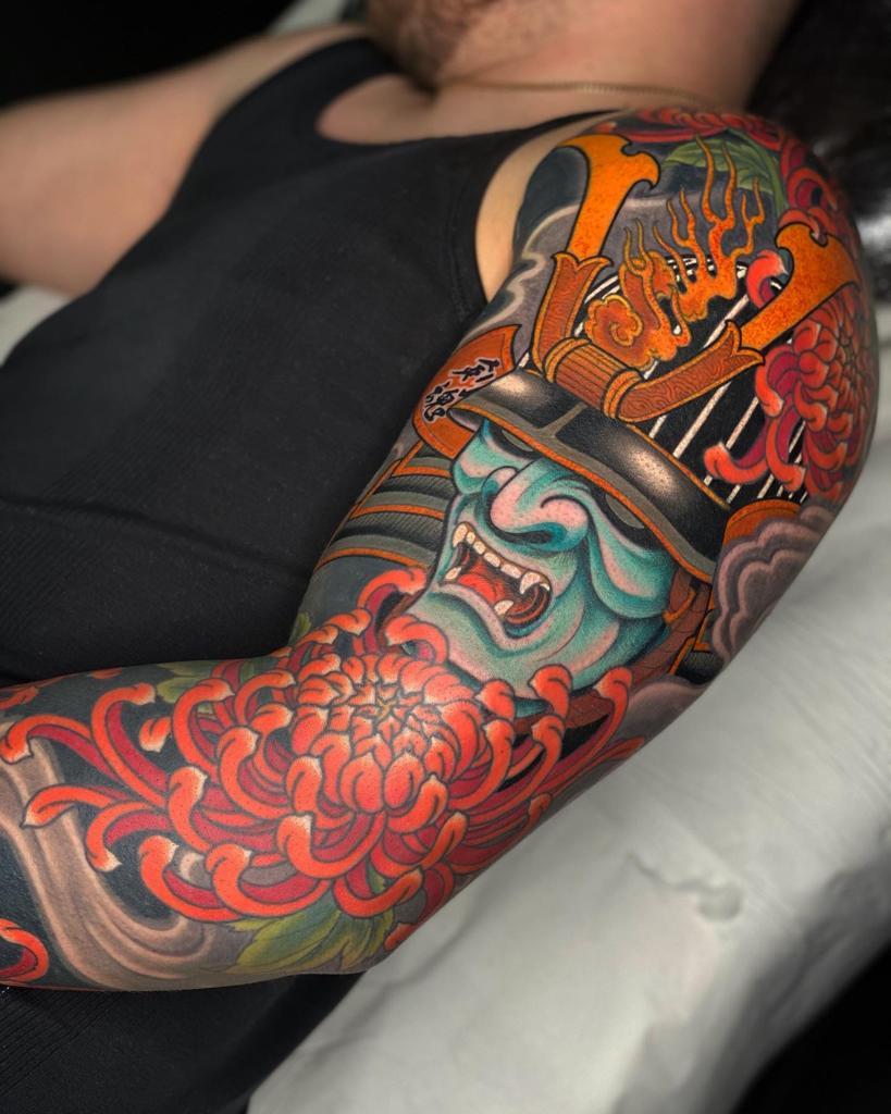 Piers, Circle of Swords Tattoo Studio, Worcester (UK)