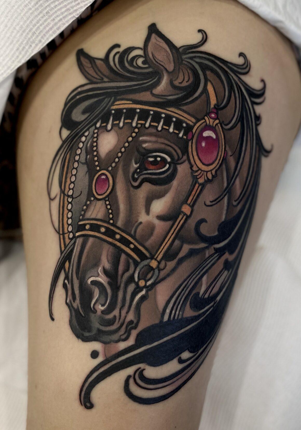 WT Norbert, Tattoo Rosie's, Sydney, Australia