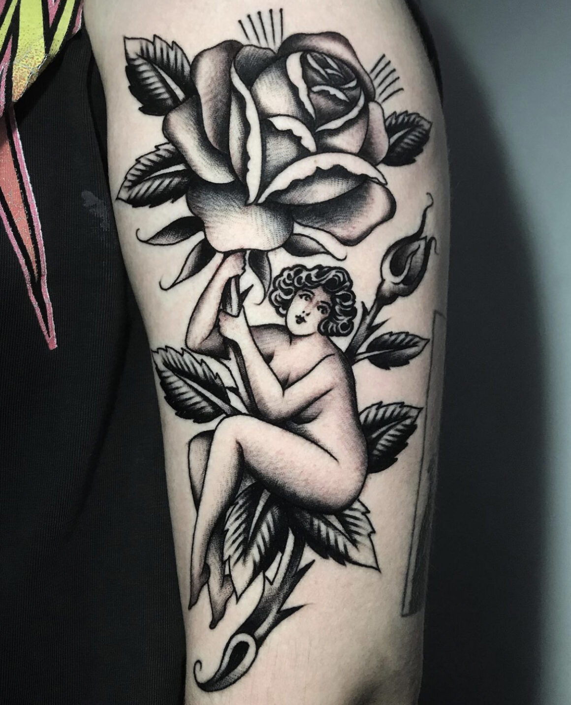 El Bara, True Love Tattoo, Madrid, Spain