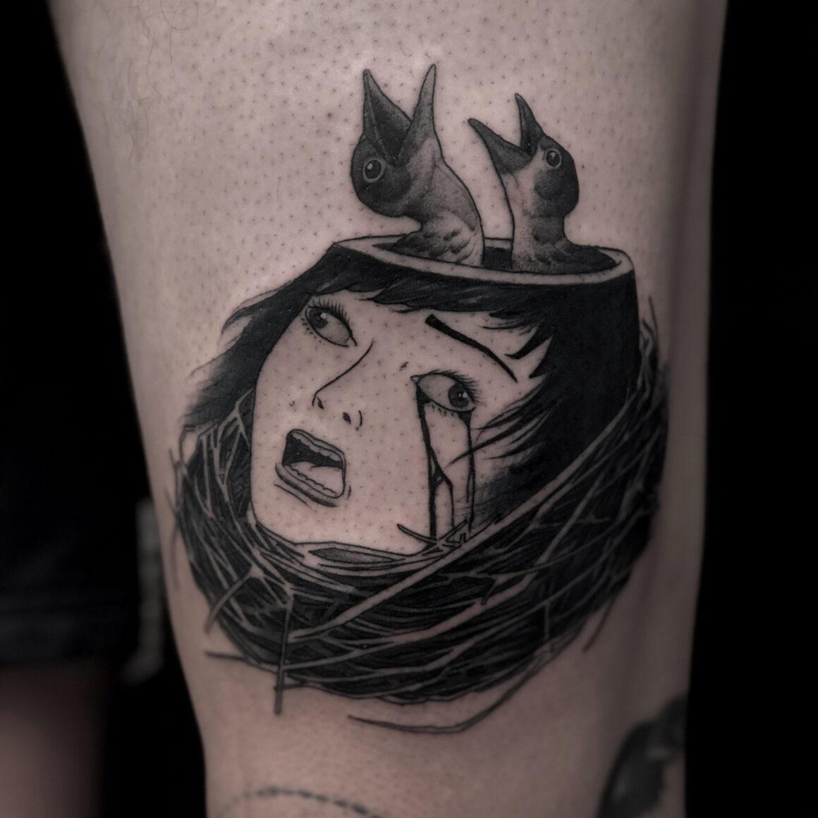 El Uf, ONDO Tattoo, Barcelona, Spain