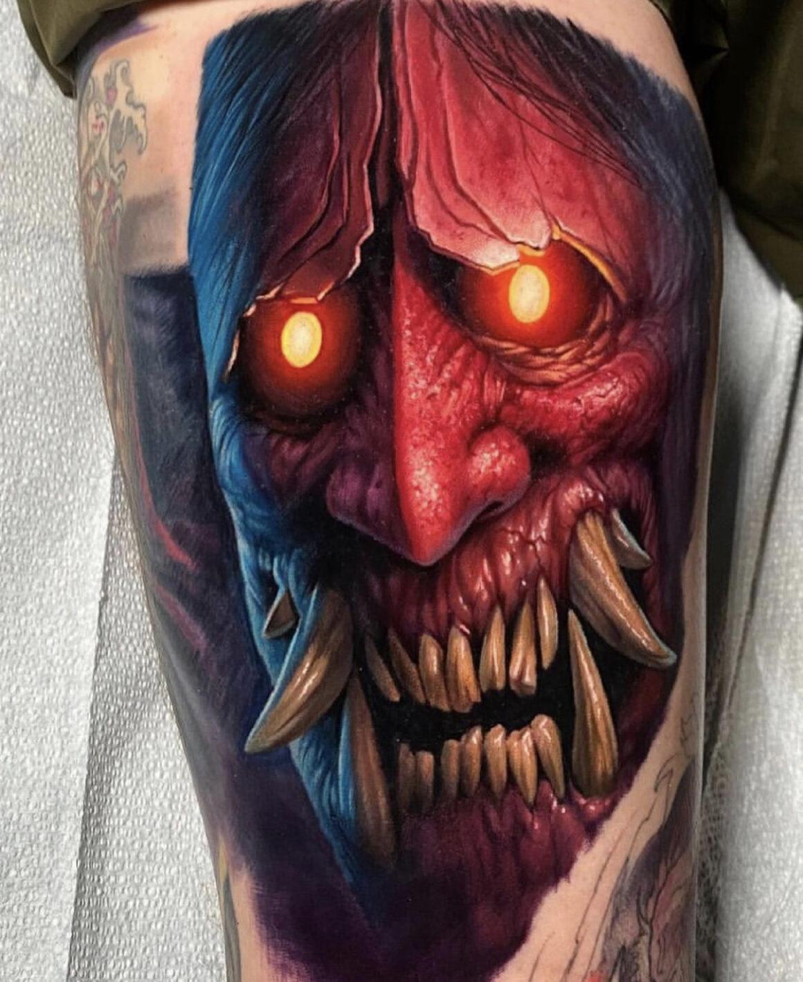 Evan Olin, Powerline Tattoo, Cranston, USA