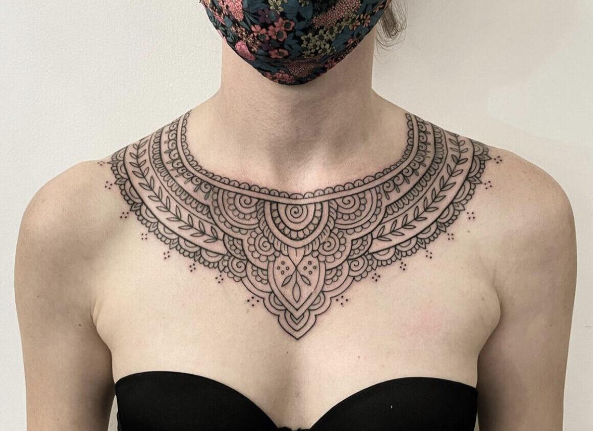 Flo Nuttall, Swan Song Tattoo, Rome, Italy
