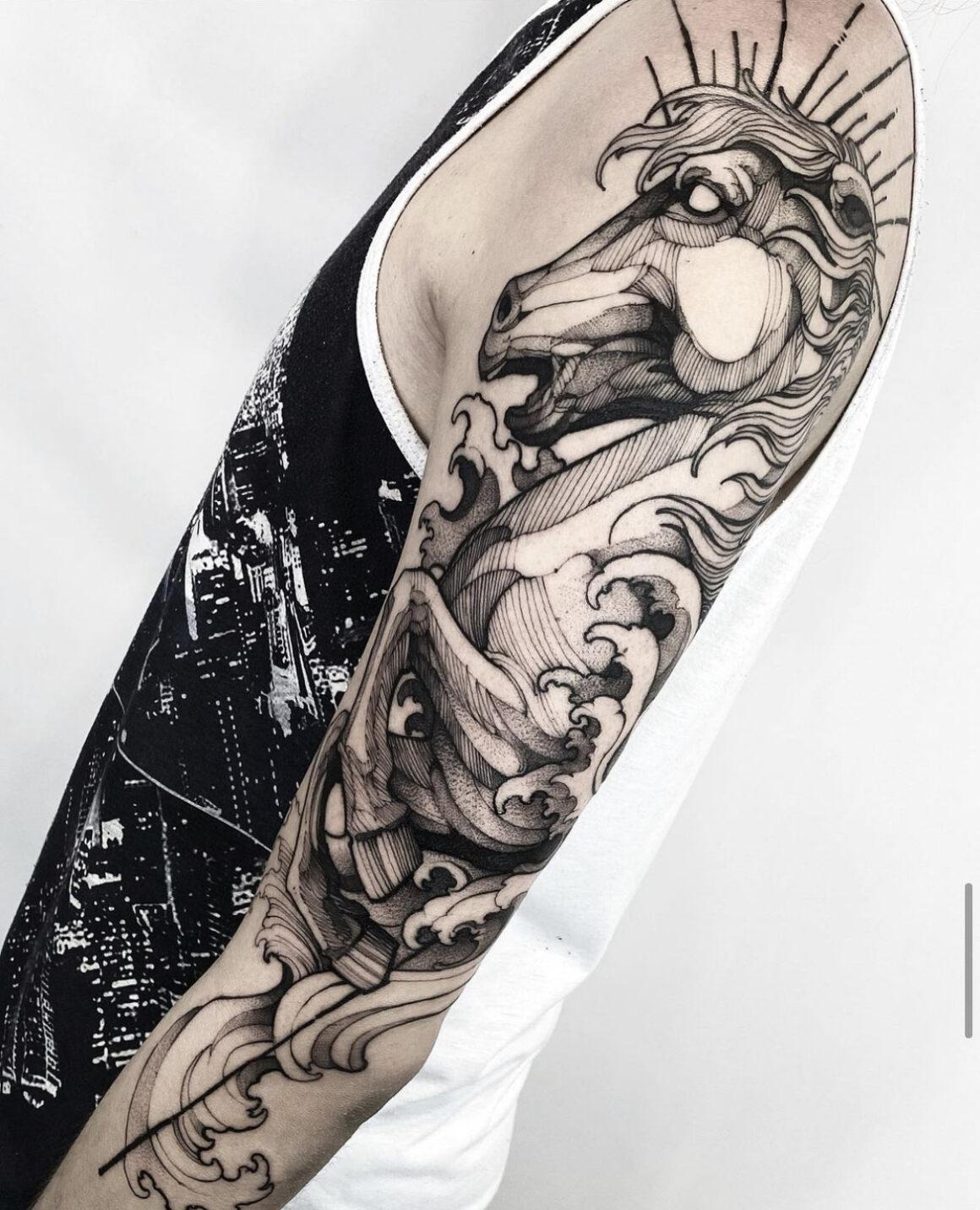 Fredao Oliveira, Inkonik Tattoo Studio, Belo Horizonte, Brazil