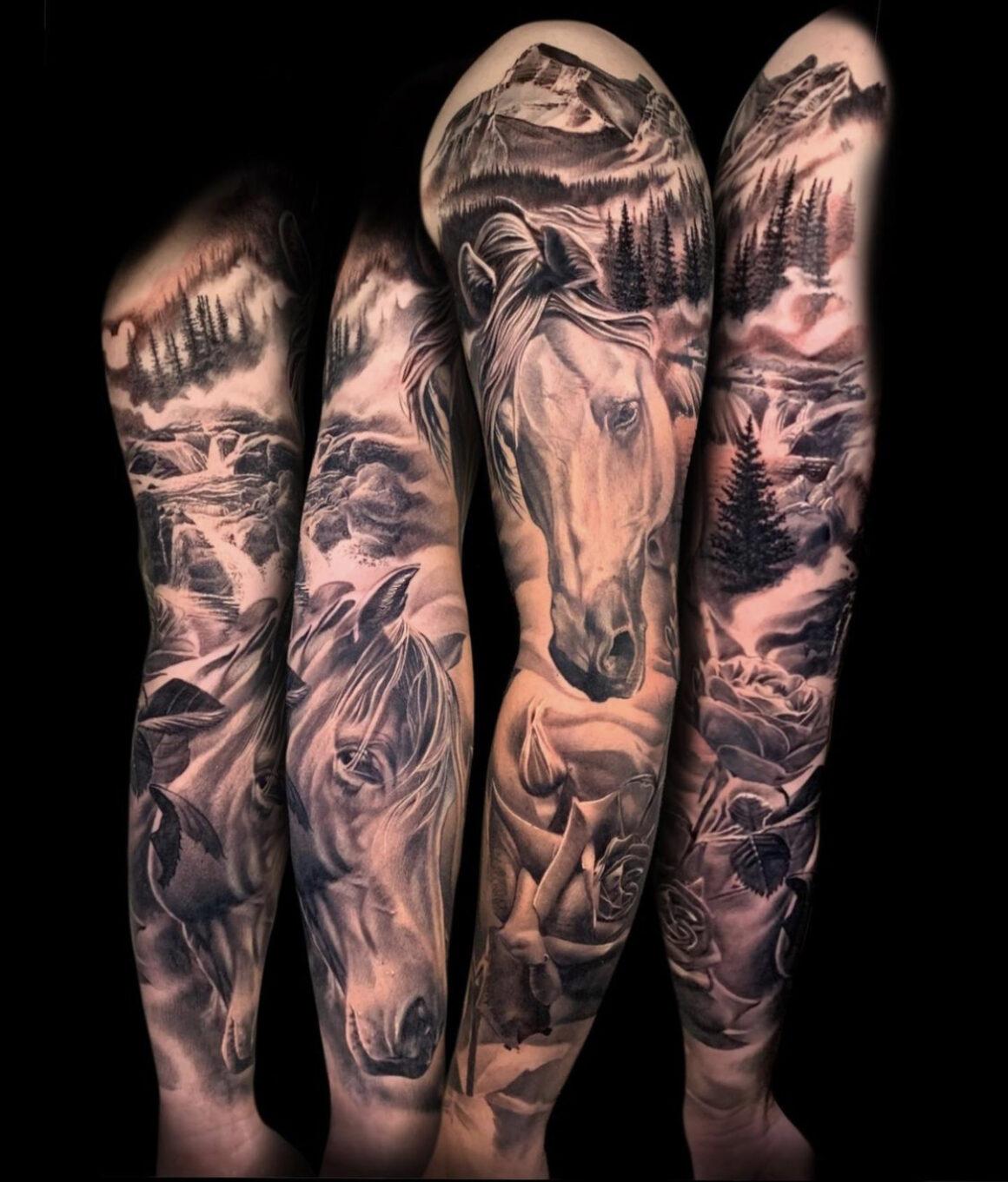 Jesse James, New World Samurai Tattoo Studio, Canmore, Canada