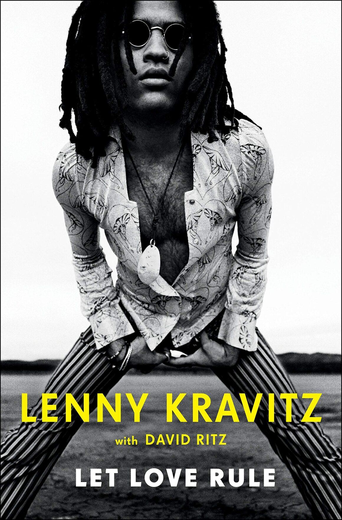 Lenny Kravitz, book cover Let Love Rule