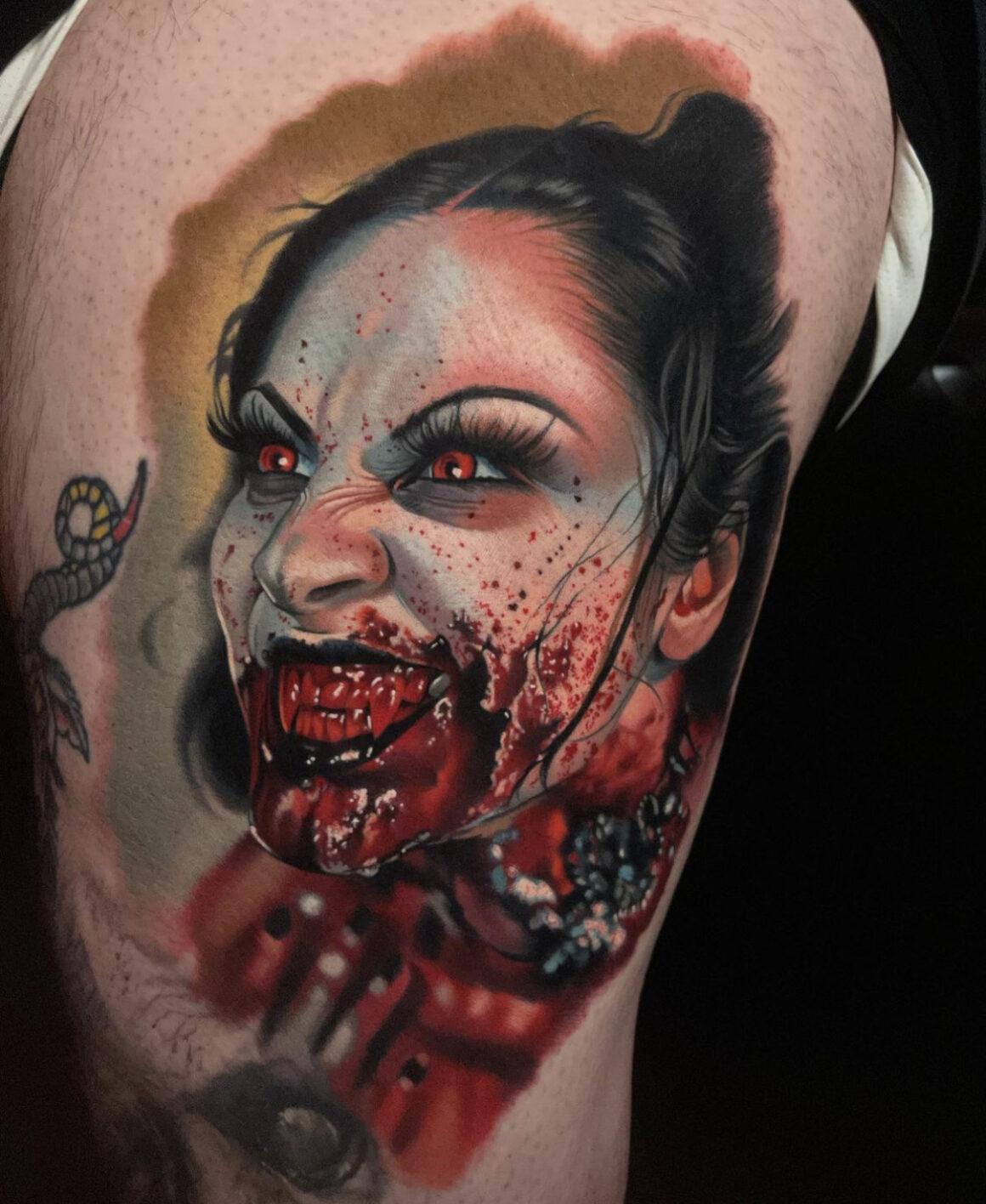 Paul Marino, Grave Tattoo Shop, North Brunswick, USA