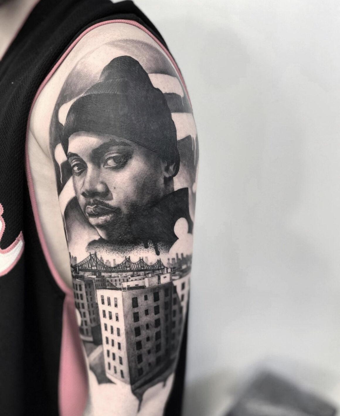 Stefano Phen, Family Art Tattoo, Barcelona, Spain