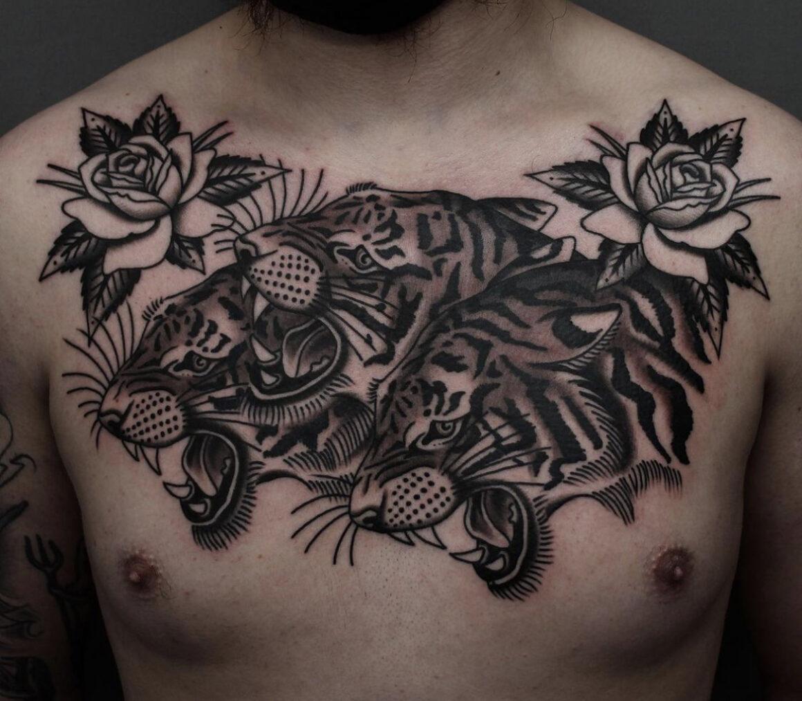Tony Nilsson, Blue Arms Tattoo, Oslo, Norway
