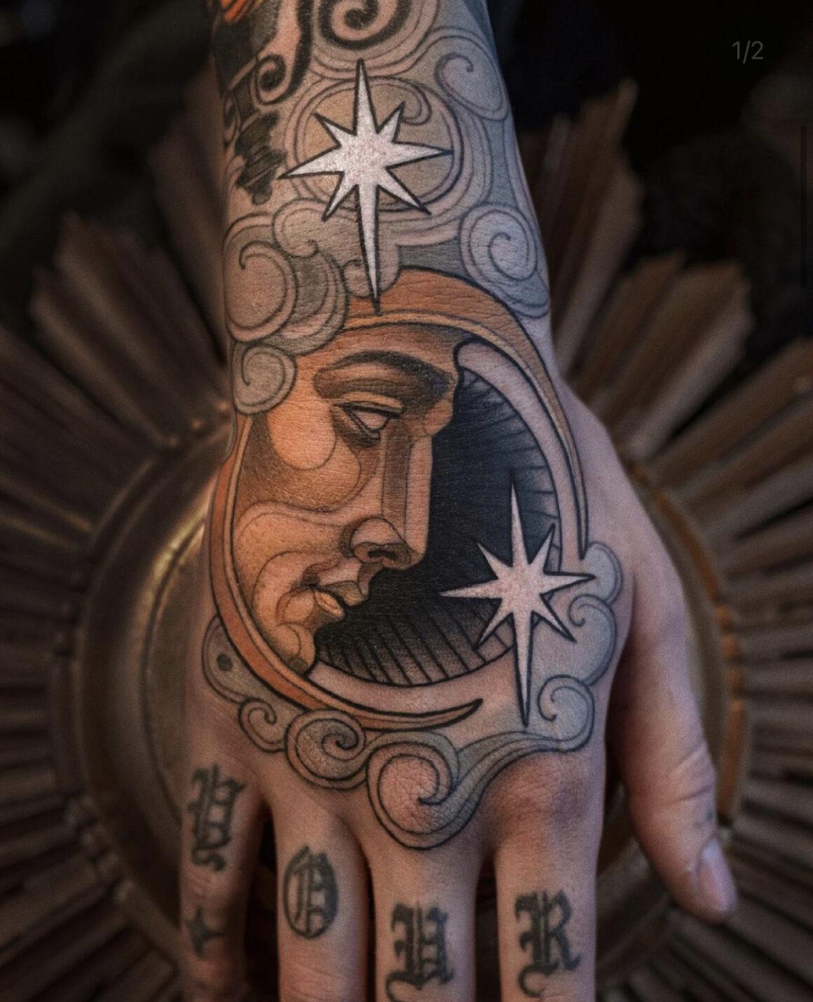 Chris Green, Swan St. Tattoo, Manchester, UK