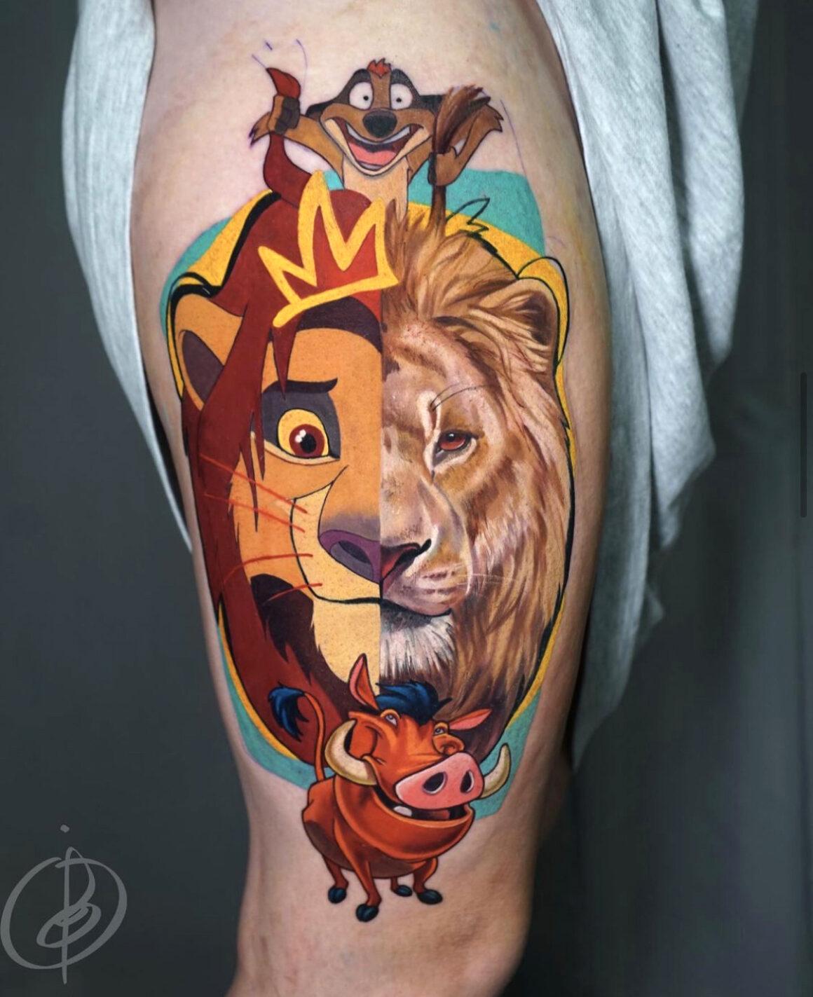 Daria Pirojenko, NBK Tattoo Collective, Moscow, Russia