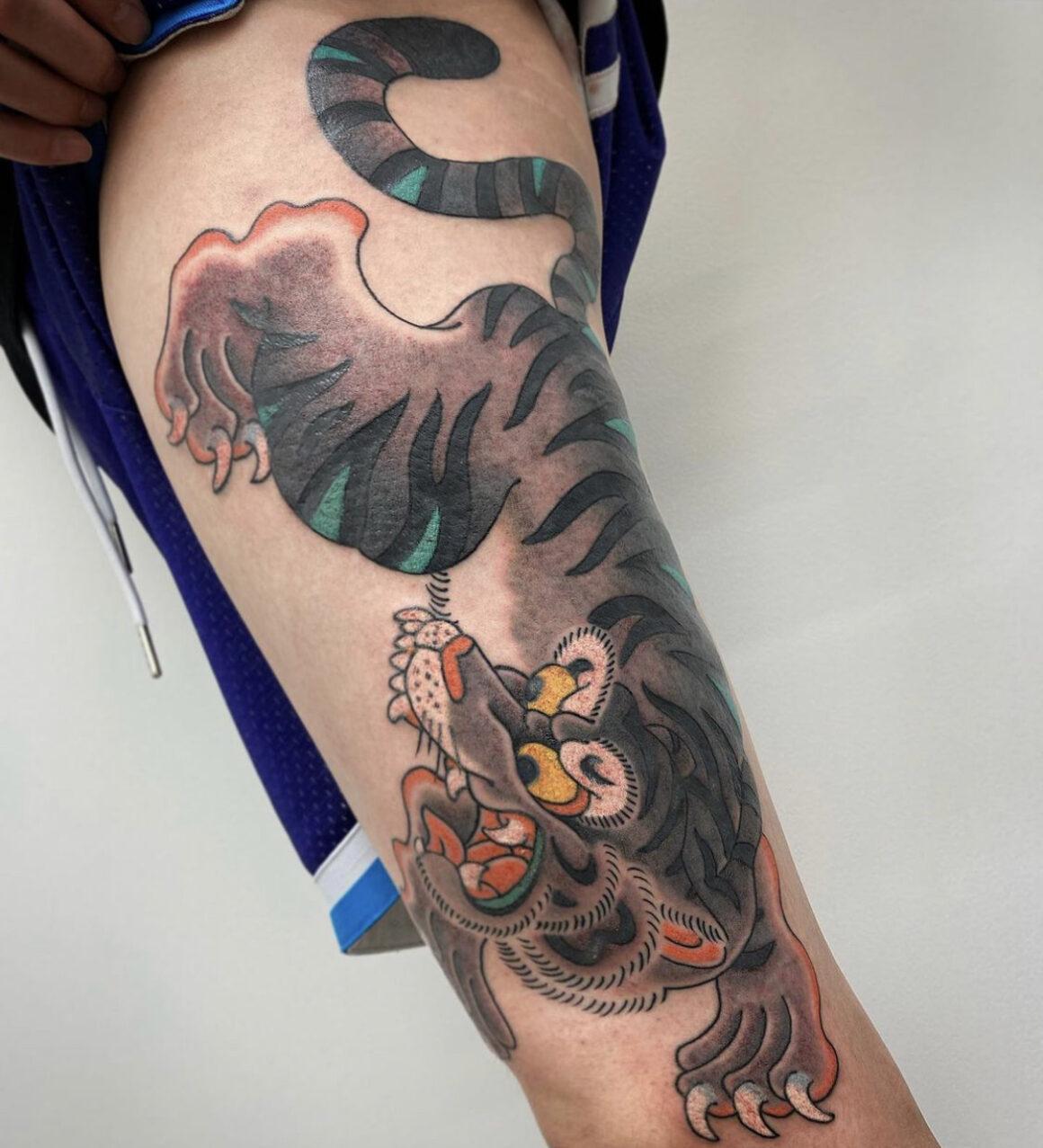 Horimatsu Bunshin, Sunset Tattoo, Auckland, New Zealand