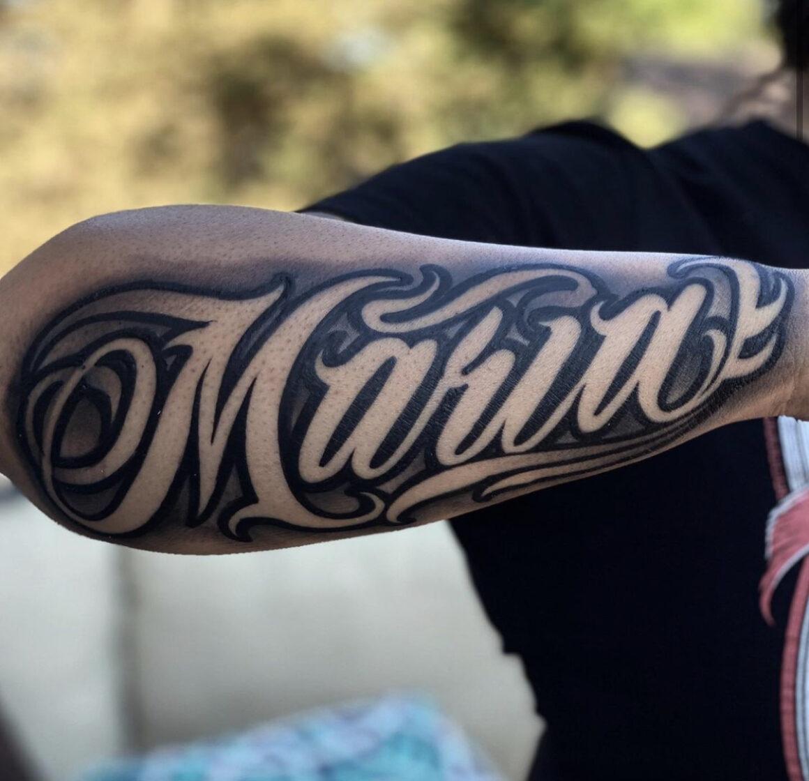 Joey, Merced Tattoo, Merced, USA