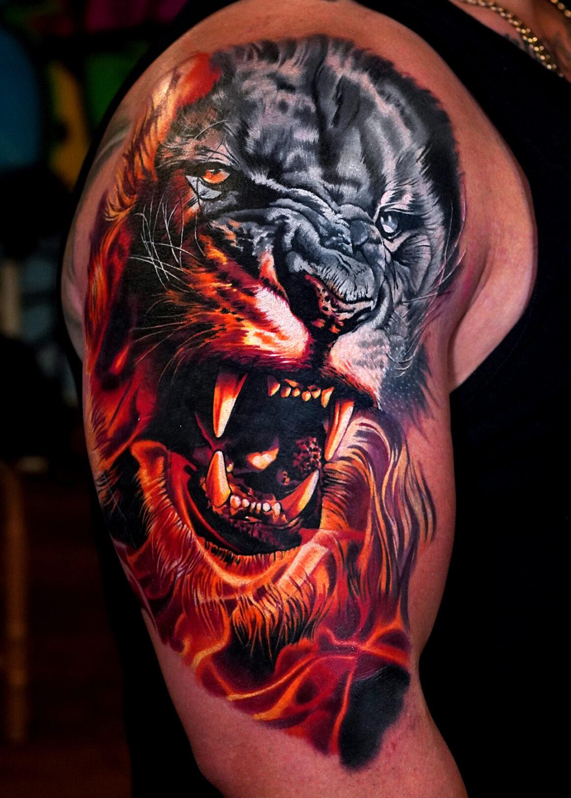 Levgen Tattoo, New York City, NY, USA