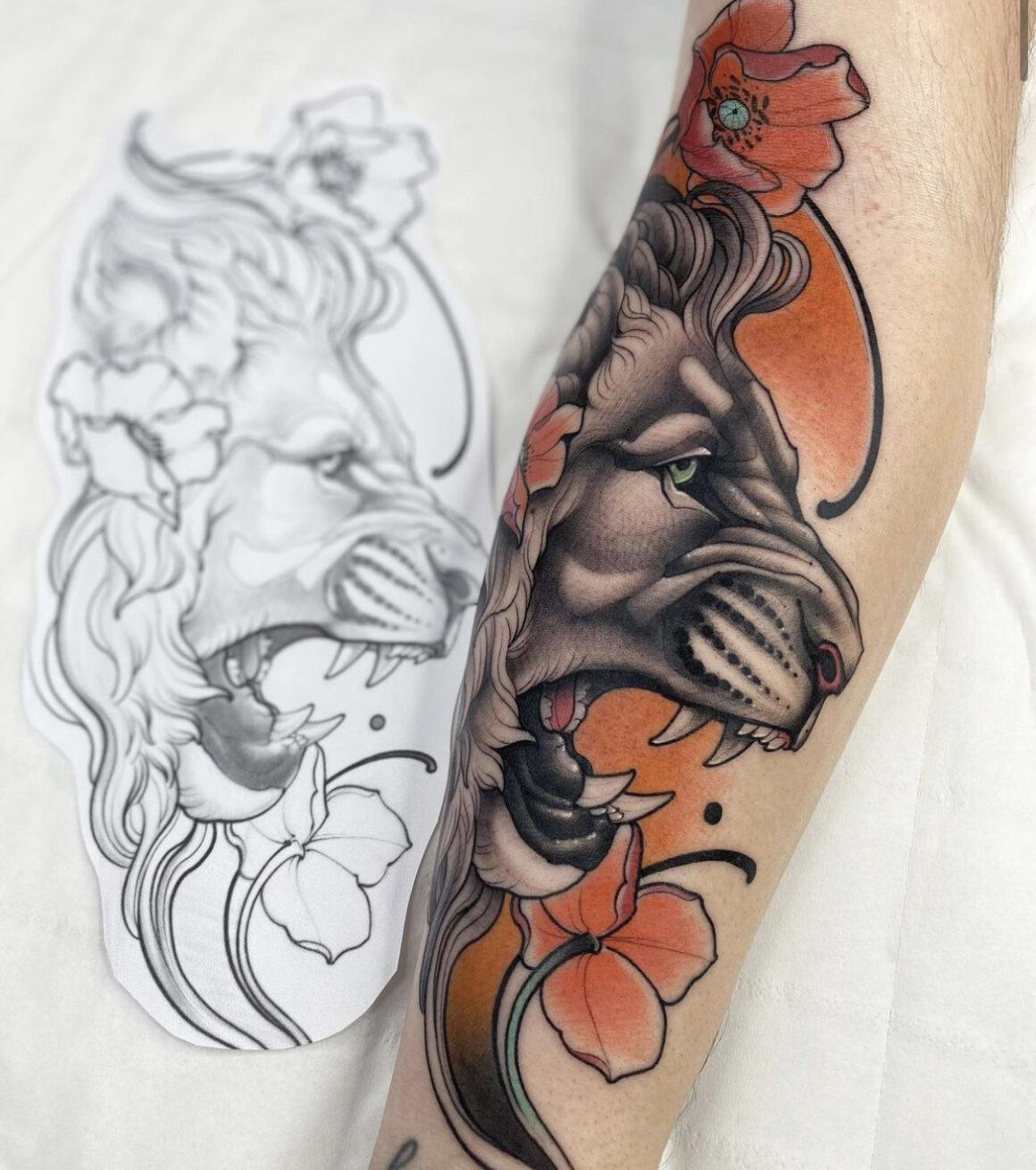 Lucas Ferraira, Bat Country Tattoo Club, Porto, Portugal
