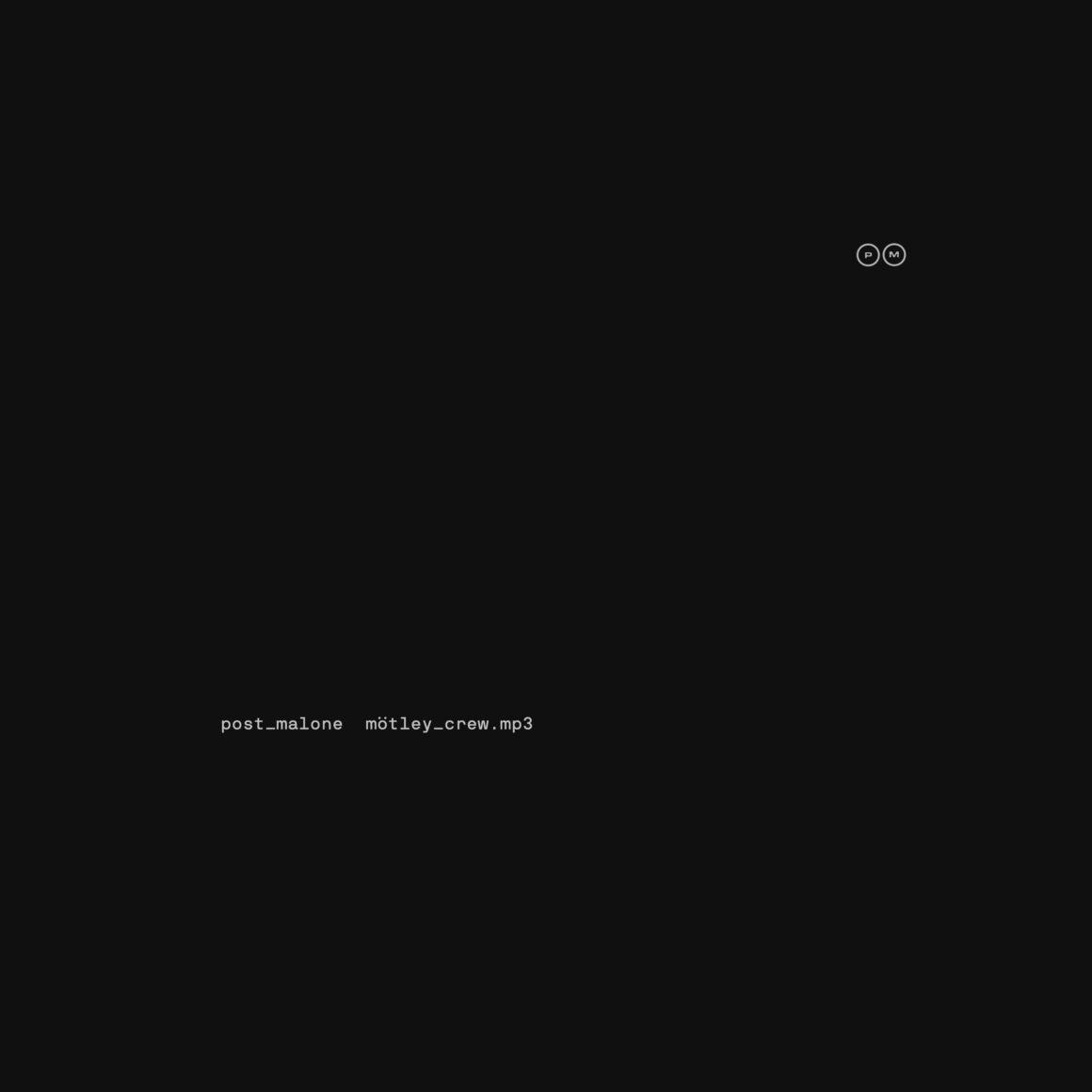 Post Malone - Motley Crew Cover