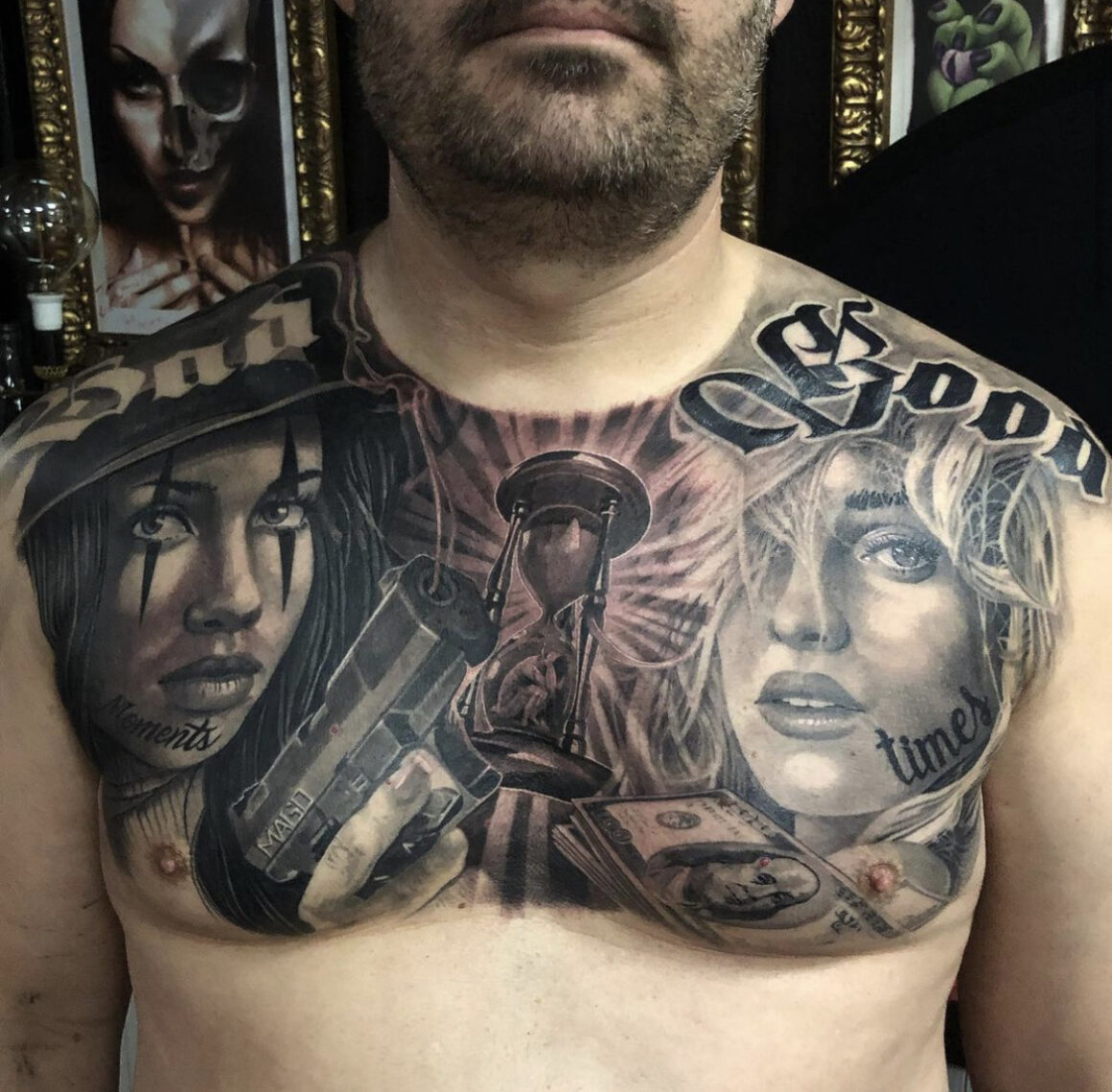 Samuel Sancho, Wanted Tattoo, Mollet Del Valles, Spain