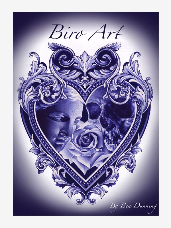 Biro Art by Ben Dunning