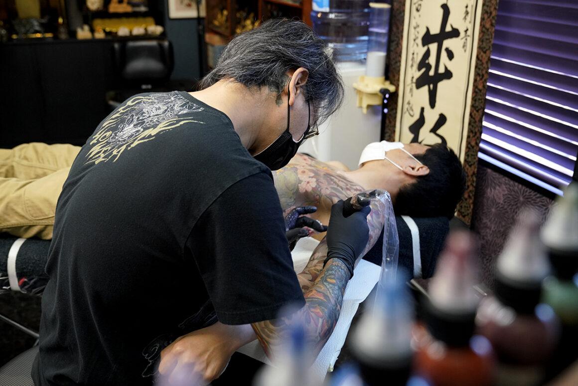 Shige, Tattoo Artist