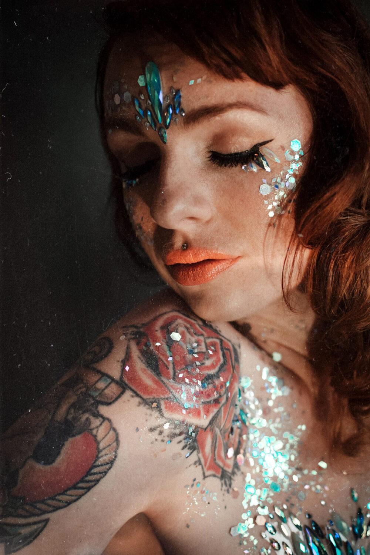 Janine, Tattoo Model