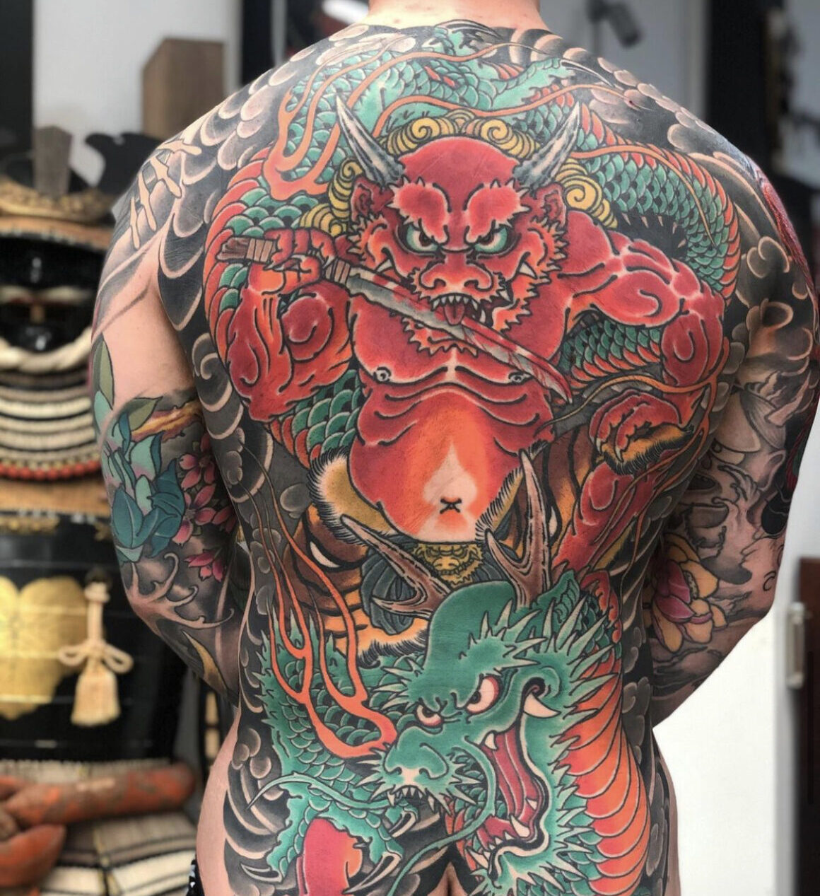Alex Rusty, Lighthouse Tattoo, Sydney, Australia