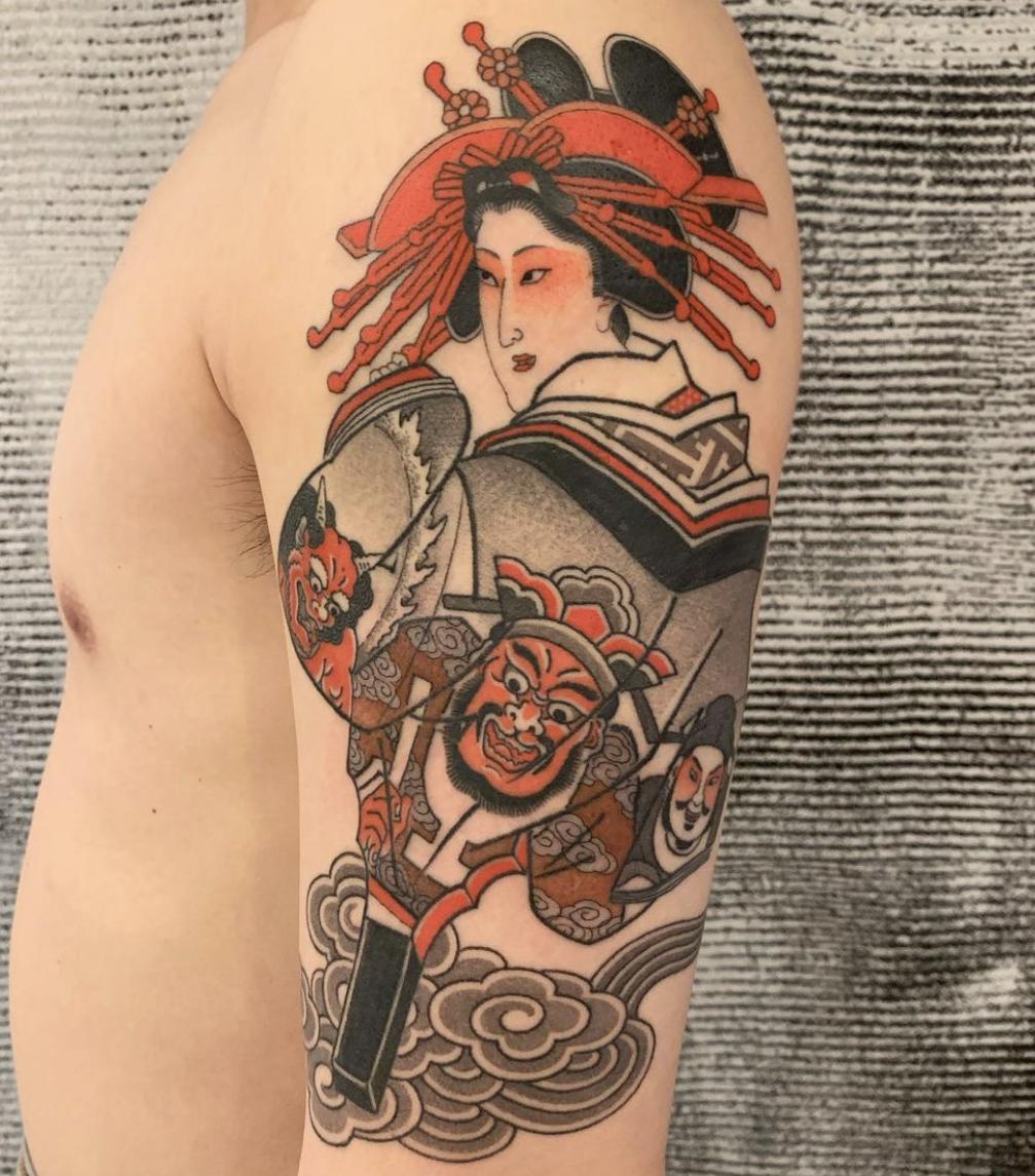 Hide Ichibay, Three Tides Tattoo, Tokyo, Japan