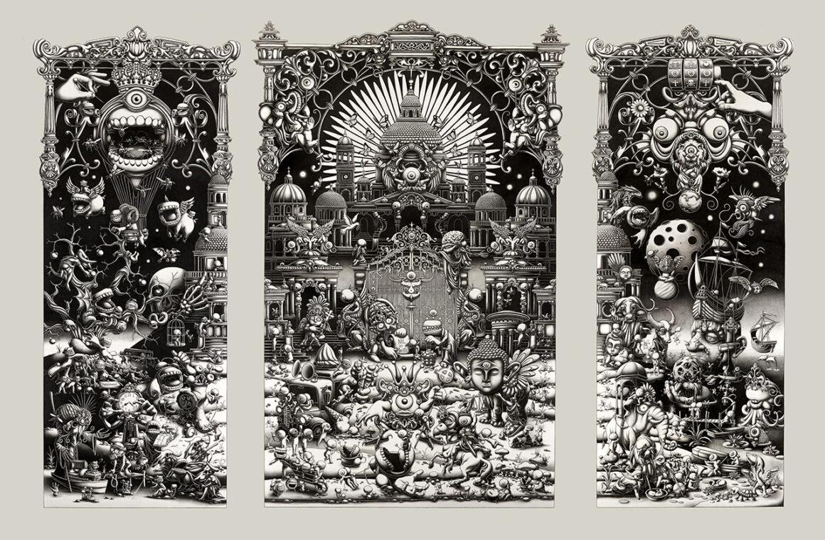 Joe Fenton, The Landing Triptych