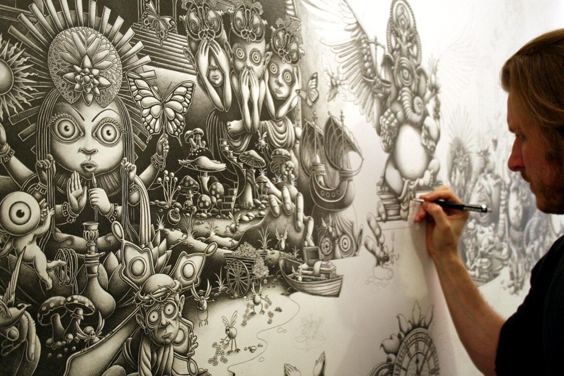 Joe Fenton, artist