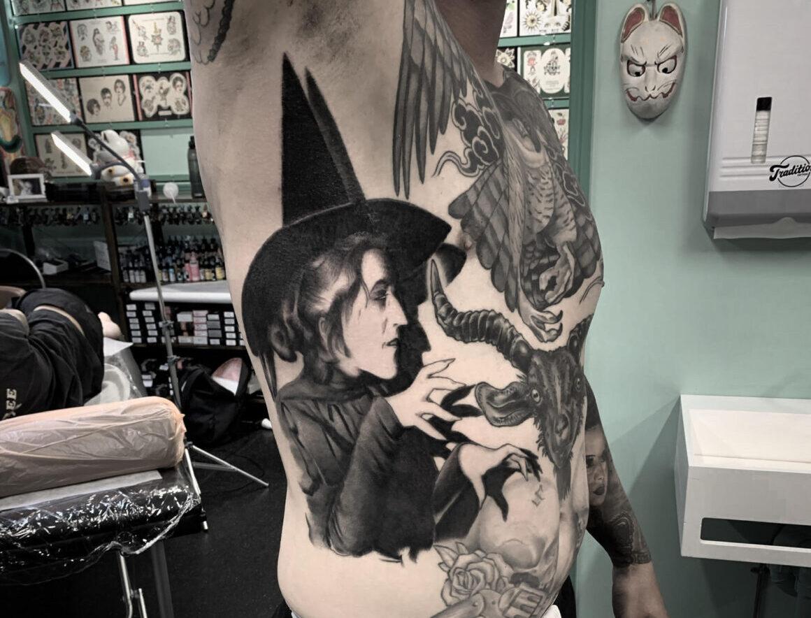 Jon FTW, Tradition Tattoo, Brisbane, Australia
