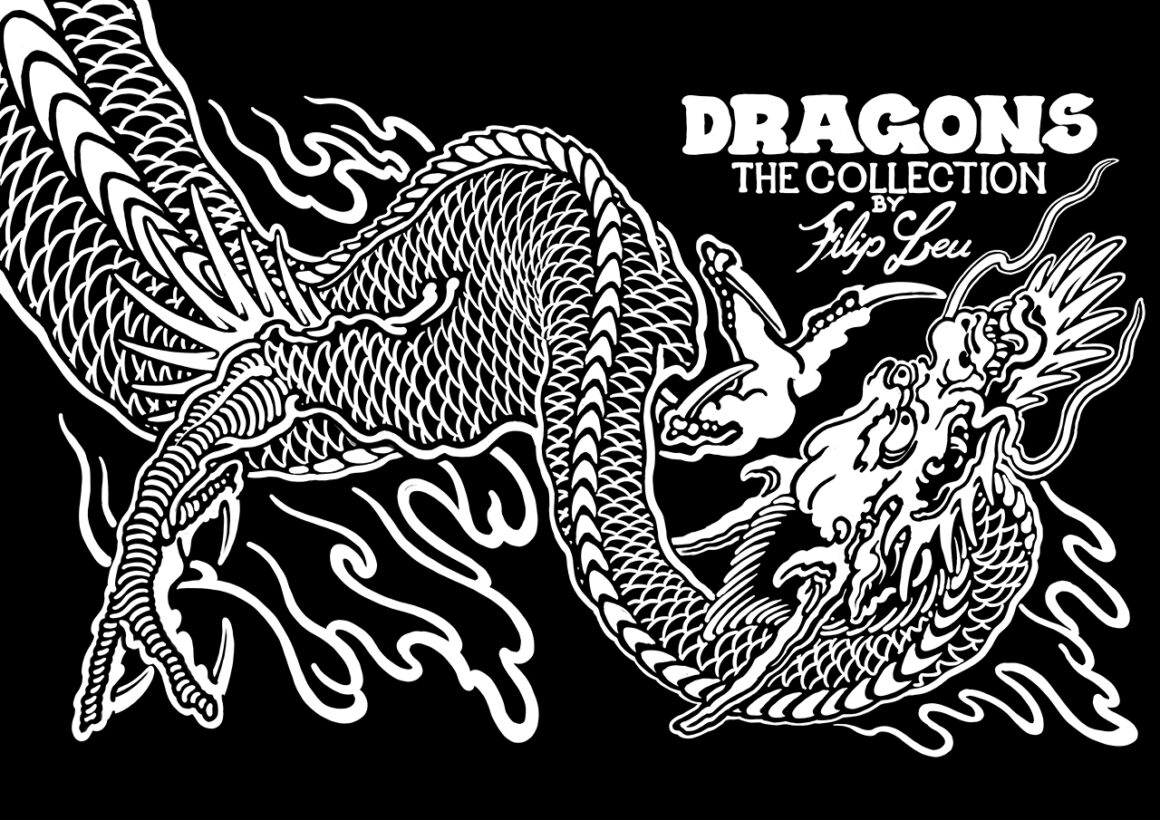 Cover Dragons - The Collection by Filip Leu