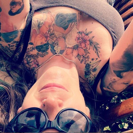 NIkki Crazy Eminem, Tattoo Model