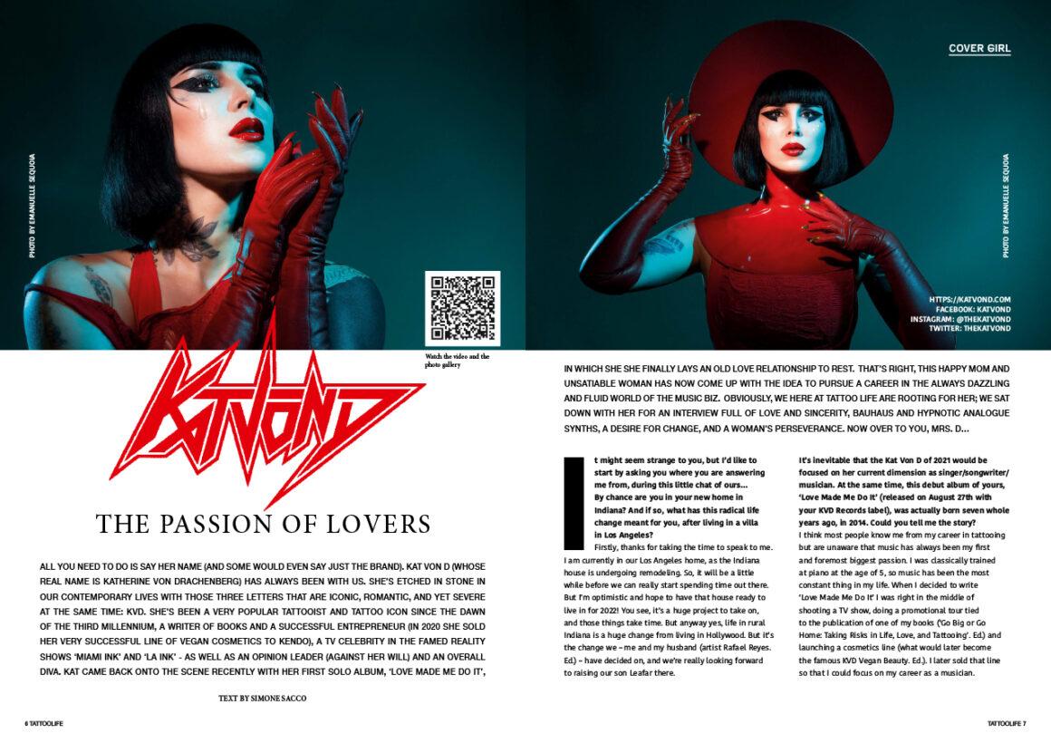 Cover Girl: Kat Von D