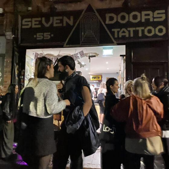 Exhibition Art on Lockdown at Seven Doors Tattoo
