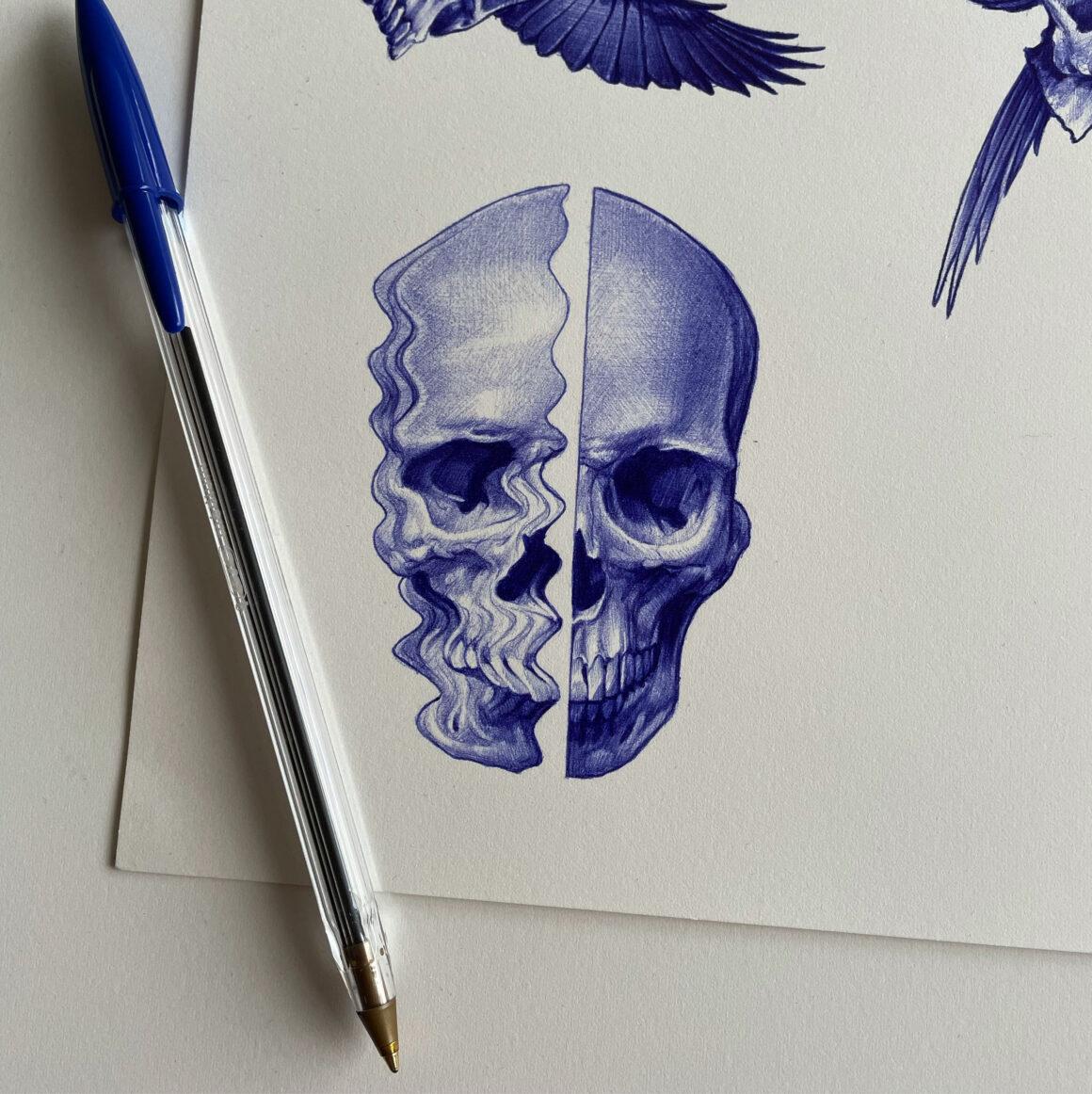 Sketch by Ben Dunning, @bendunningtattoo