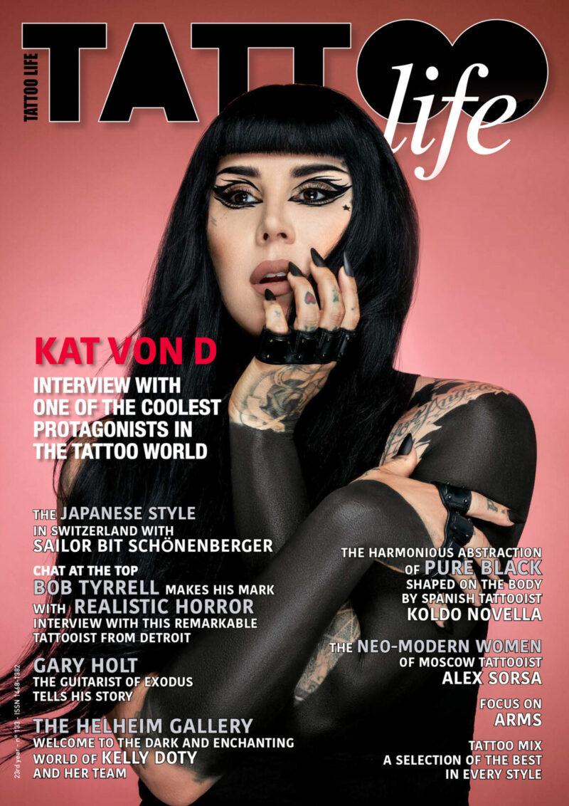 Cover Tattoo Life November/December 2021