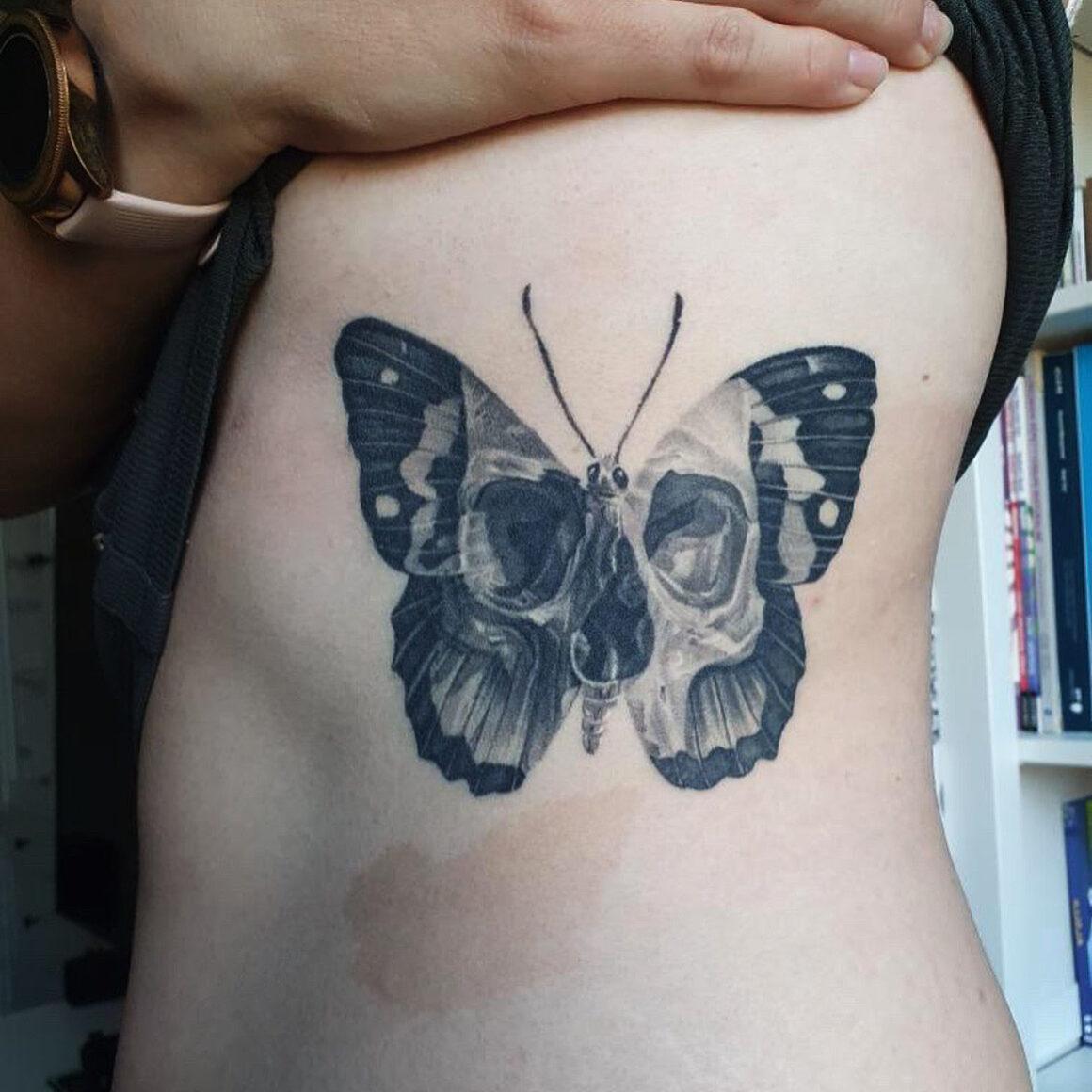 Tattoo by Ben Dunning, @bendunningtattoo